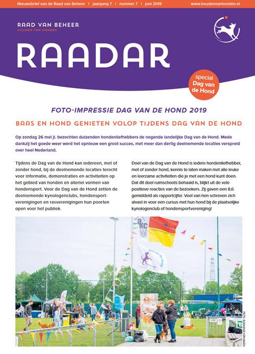 e4dbd65c680 Raadar Special -Dag vd hond 2019