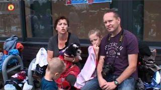 Eerste hondenplons Eindhoven drukbezocht